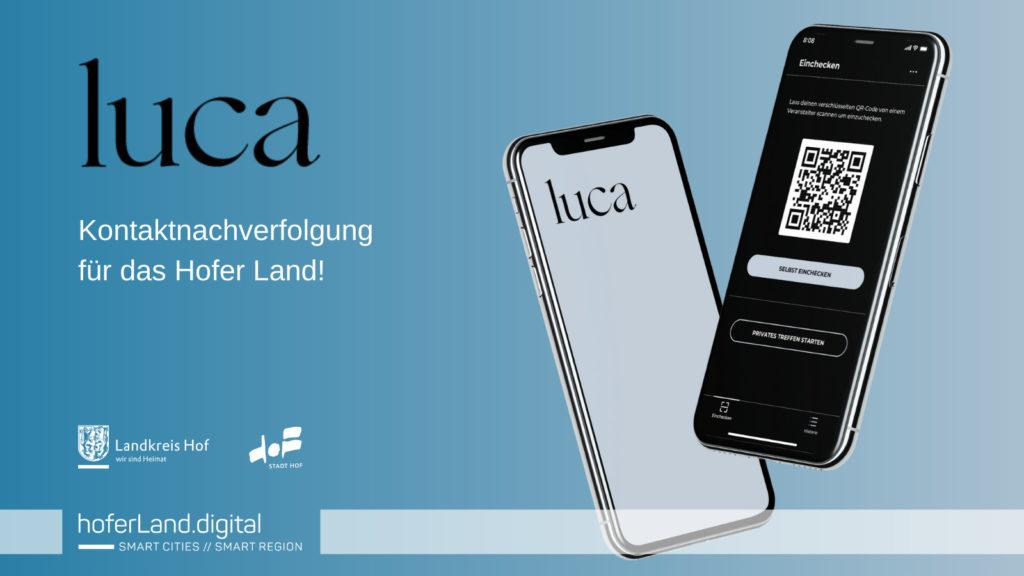 Die luca App für das Hofer Land